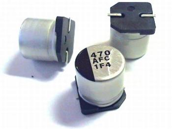 SMD ELCO 470uF 10V