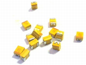 SMD Tantal capacitor  4,7uF 10volts