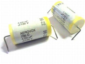 Condensator 4.02uF J/100V Aerovox