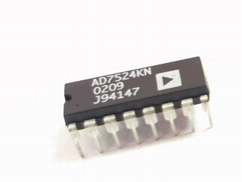 AD7524KN DAC 1-Channel