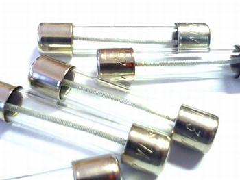 Glasfuse 6x32  1A 250V SLOW