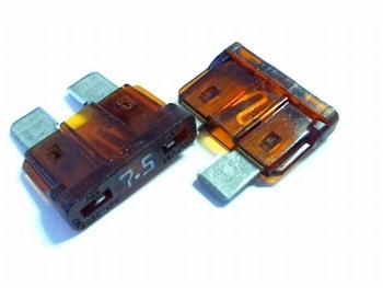 Steekzekeringen 7.5A 32VDC snel