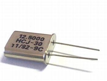 Quartz crystal 12,5000 mhz
