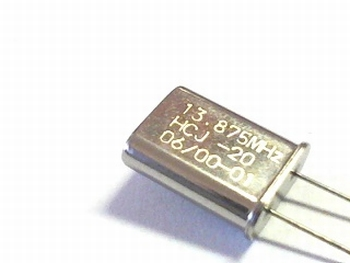 Quartz crystal 13,8750 mhz