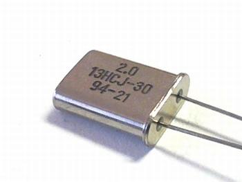 Quartz crystal 2 mhz