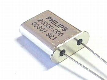 Quartz crystal 20 mhz