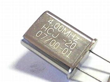 Quartz crystal 4 mhz