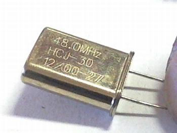 Quartz kristal 48 mhz