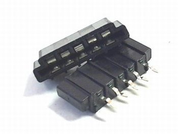 FFC / FPC connector 5 pins 2,54mm