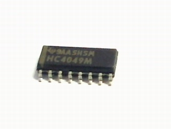 74HC4049D HEX INVERTOR