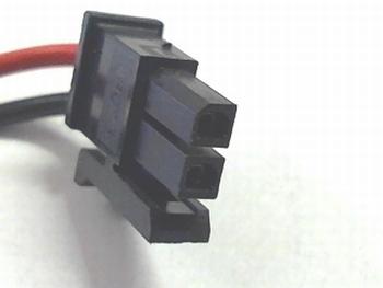 10 X 2 way molex connector RM2.54