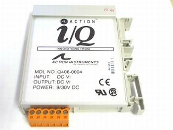 Action I/Q  Input Module Q408-0004 9/30VDC