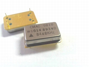 Quartz crystal oscillator 8,448 mhz