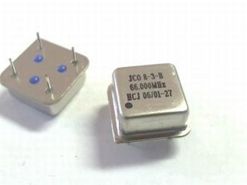 Quartz kristal oscillator 66 mhz
