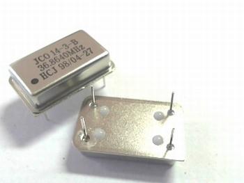 Quartz crystal oscillator 36,8640 mhz