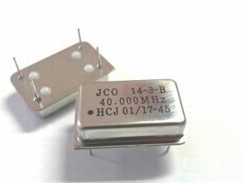 Quartz crystal oscillator 40 mhz