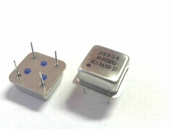 Quartz kristal oscillator 10 mhz vierkant