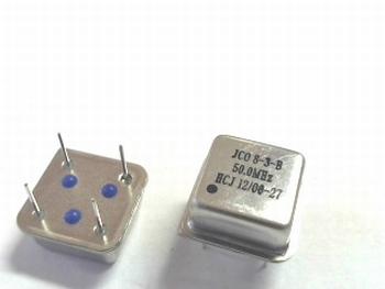 Quartz kristal oscillator 50 mhz vierkant