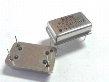 Quartz kristal oscillator 11,520 mhz