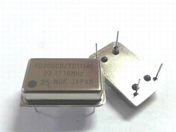 Quartz kristal oscillator 33,1776 mhz