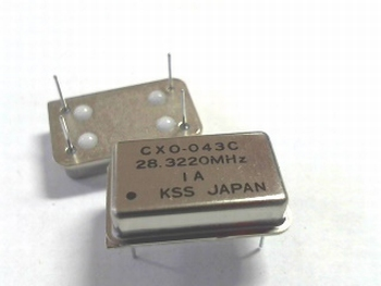Quartz kristal oscillator 28,3220 mhz