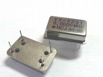Quartz kristal oscillator 6 mhz