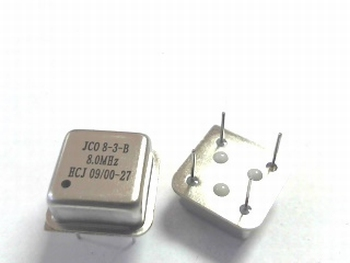 Quartz crystal oscillator 8 mhz