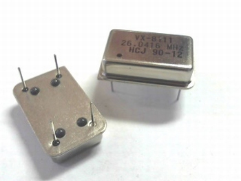 Quartz crystal oscillator 20,5000 mhz