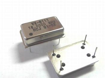 Quartz crystal oscillator 18mhz