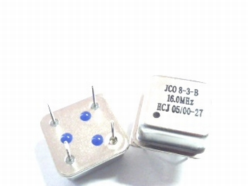 Quartz kristal oscillator 16 mhz vierkant