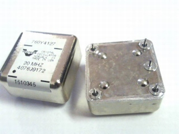 Quartz kristal oscillator 20 mhz 760Y4127