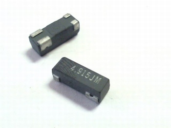 Quartz crystal SMD 4,9152 mhz