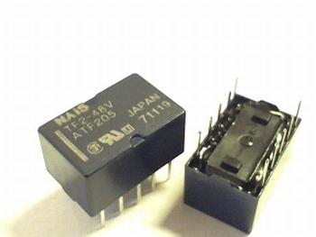 Relais TF2- 48V  DPDT