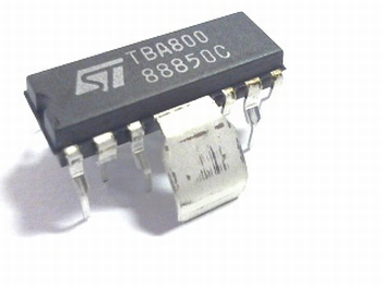 TBA800 5W audio versterker