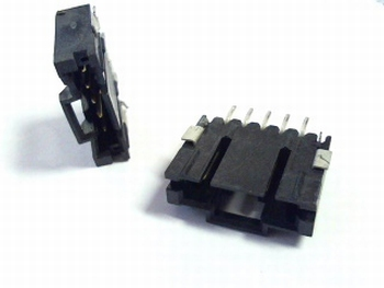 Male header 5 pins SMD type 5-147323-4