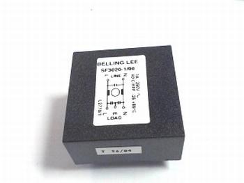 Mains filter SF3020-1-08 Belling Lee