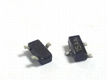 MMBZ15VALT1 Zener Diode SMD Common Cathode, 15 Volt