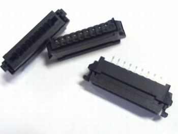 FFC / FPC connector 9 polig 2.54RM