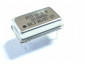 Quartz crystal oscillator 32 mhz