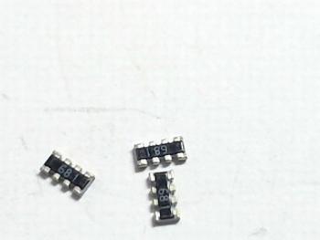 Weerstand SMD netwerk 4x 680 ohm
