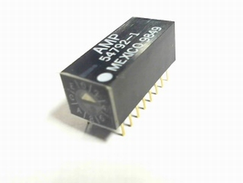 Switch AMP54792-1 with adjustable settings
