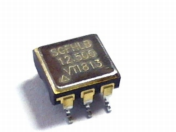 Quartz kristal oscillator SGFHLB 12.5 mhz