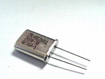 Quartz kristal 29,4912 mhz