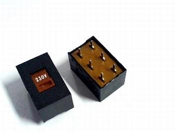 Selector switch 230V / 115V
