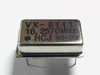 Quartz kristal oscillator 16,2570 mhz