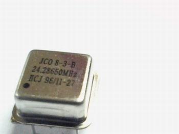 Quartz crystal oscillator 24,28650 mhz
