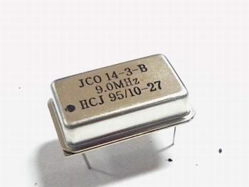 Quartz crystal oscillator 9 mhz