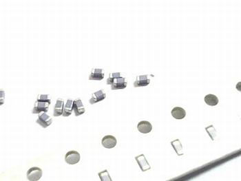 SMD keramische condensatoren 0603 - 0,68pF 10 stuks!