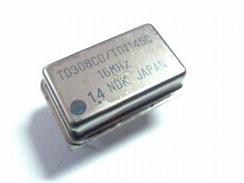 Quartz crystal oscillator 16 mhz