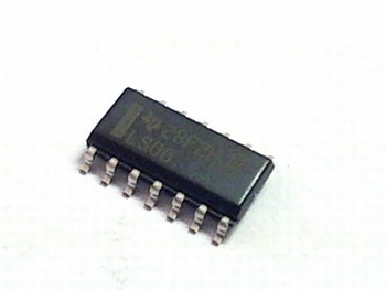 74LS06D INVERTING BUFFER SMD